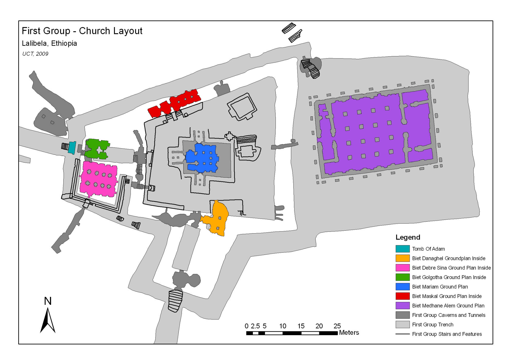 GIS Layout 2 of the 1st Group