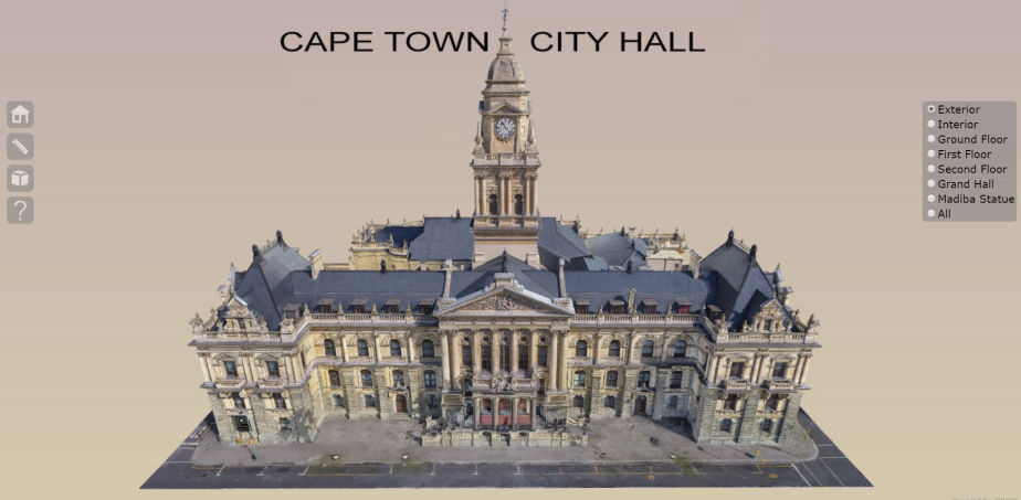 3D model of the Cape Town City Hall